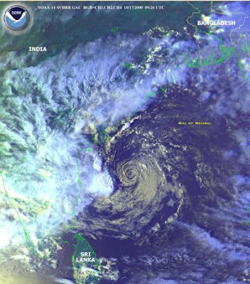 Cyclone Phyan in India's west coast