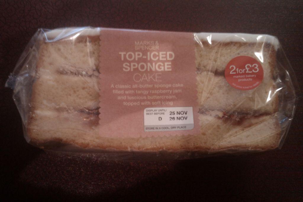 Ready Iced Sponge Cake
