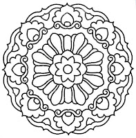 COLORING BOOKS KALEIDOSCOPES « Free Coloring Pages