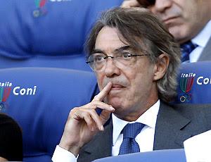 Bos Inter Massimo Moratti mengatakan MU memang tertarik Sneijder