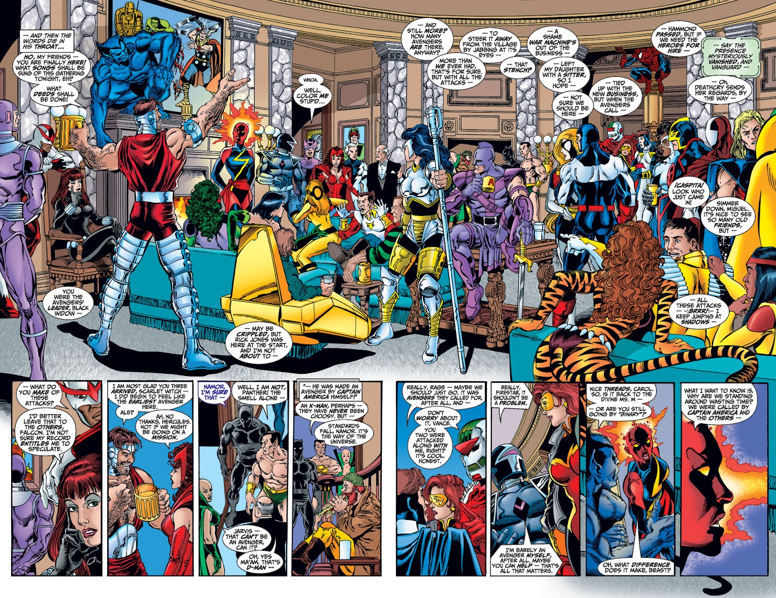 Avengers (1998) issue 1 - Page 17