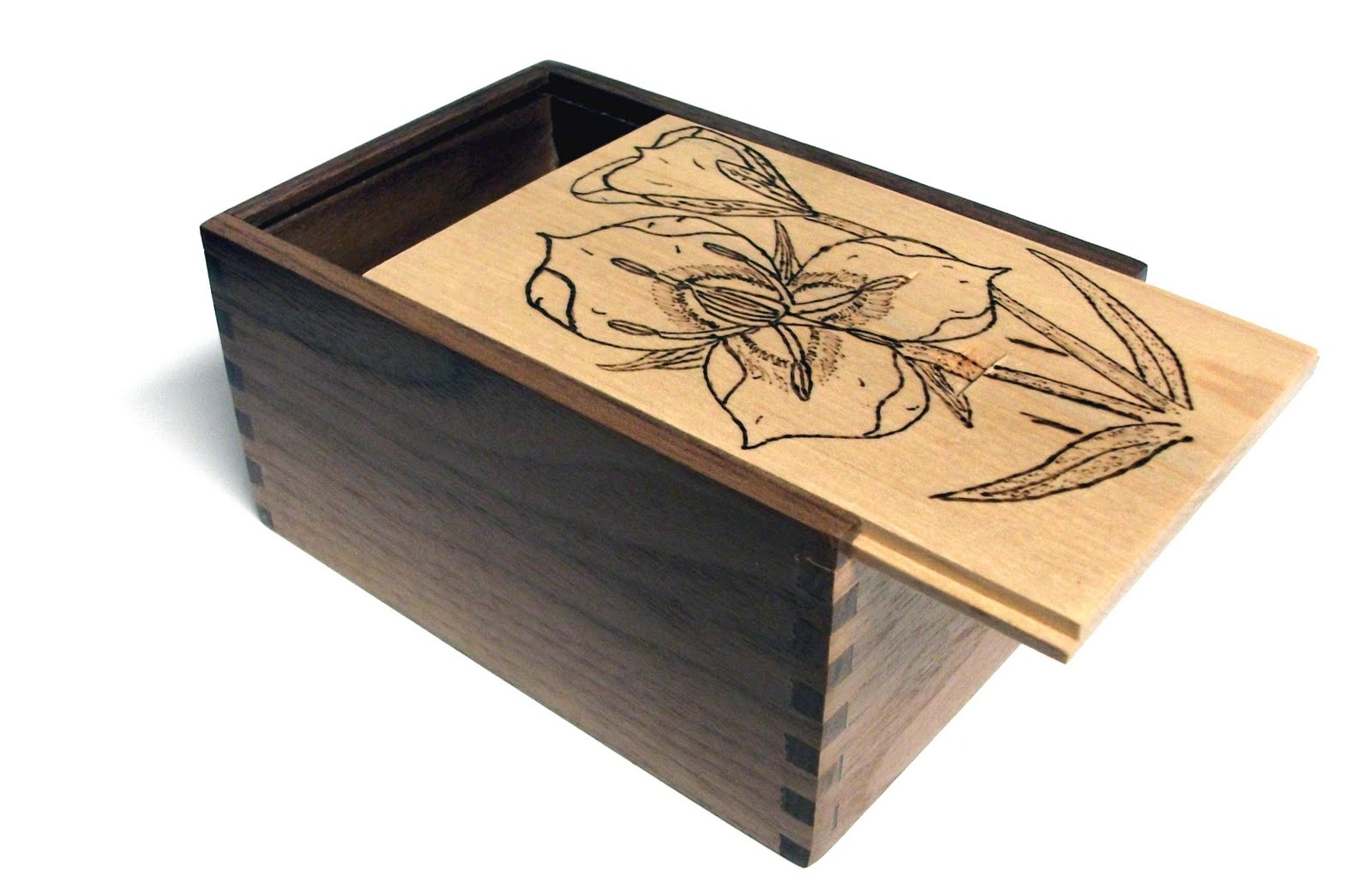 handmade wood jewelry box plans