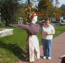 Our President with Scarecrow!