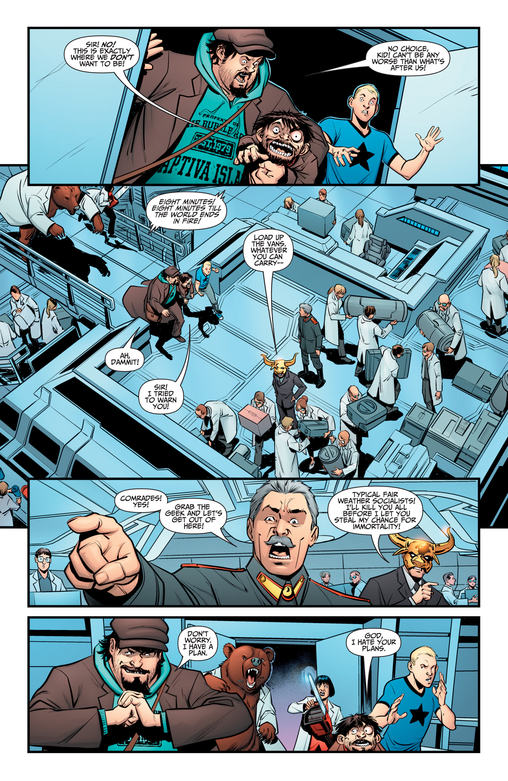 Read online A&A: The Adventures of Archer & Armstrong comic -  Issue #12 - 13