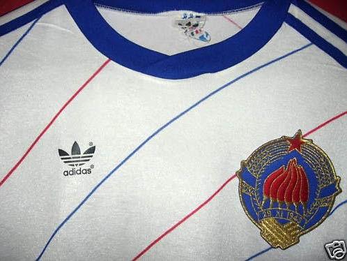 Adidas Soccer Jersey for Yugoslav National Team 70955fe5d