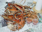 CRAB FEASTING IN MARYLAND