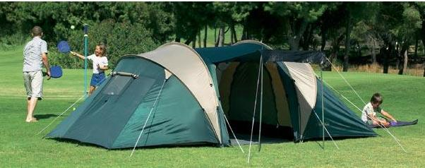 4 Person 2 Room Tent