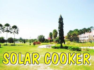 Meh Aku Nak Cerita Sedikit Mengenai Dapur Suria Nie Ini Adalah Yang Dibuat Dengan Menggunakan Tenaga Solar Sebagai Sumbernya Erti