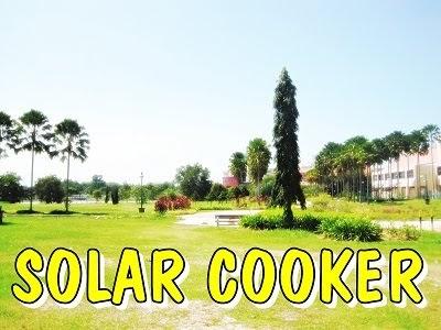 Blackbody Solar Cooker Lengkapkan Konsep 3r
