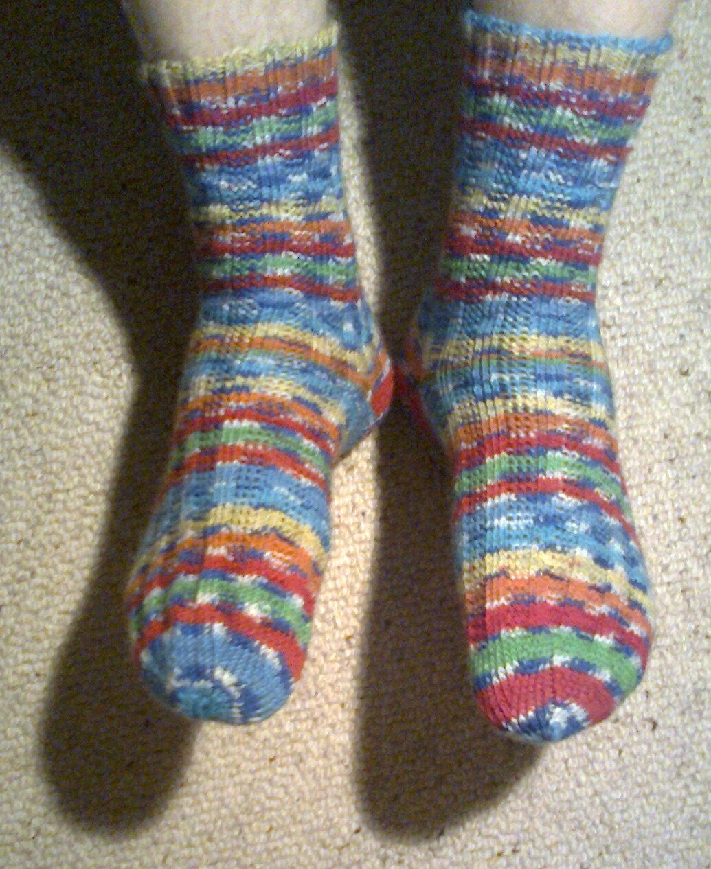 Sexy Füße Und Kratzige Socken