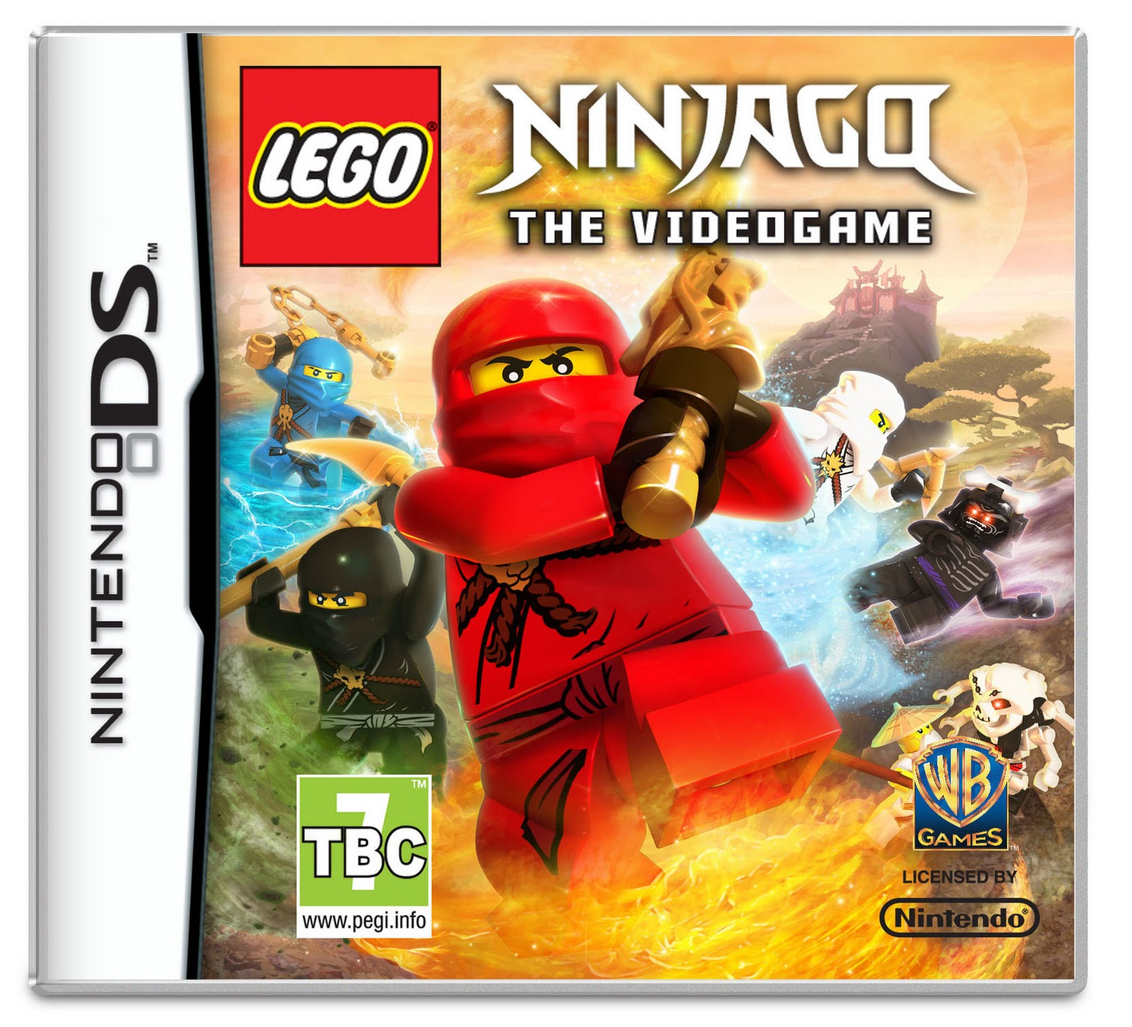 theangryspark lego ninjago the videogame announced for ds
