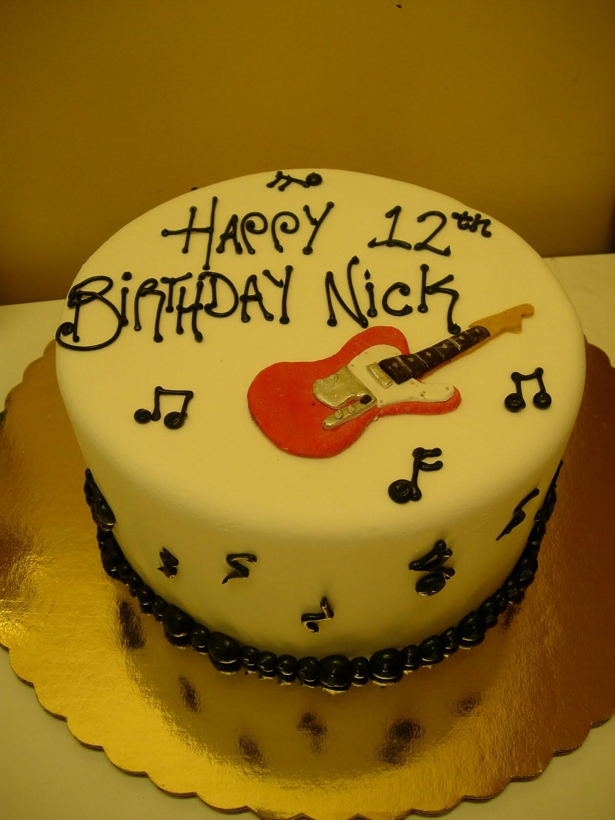 Artisan Bake Shop Fender Stratocaster Guitar Cake