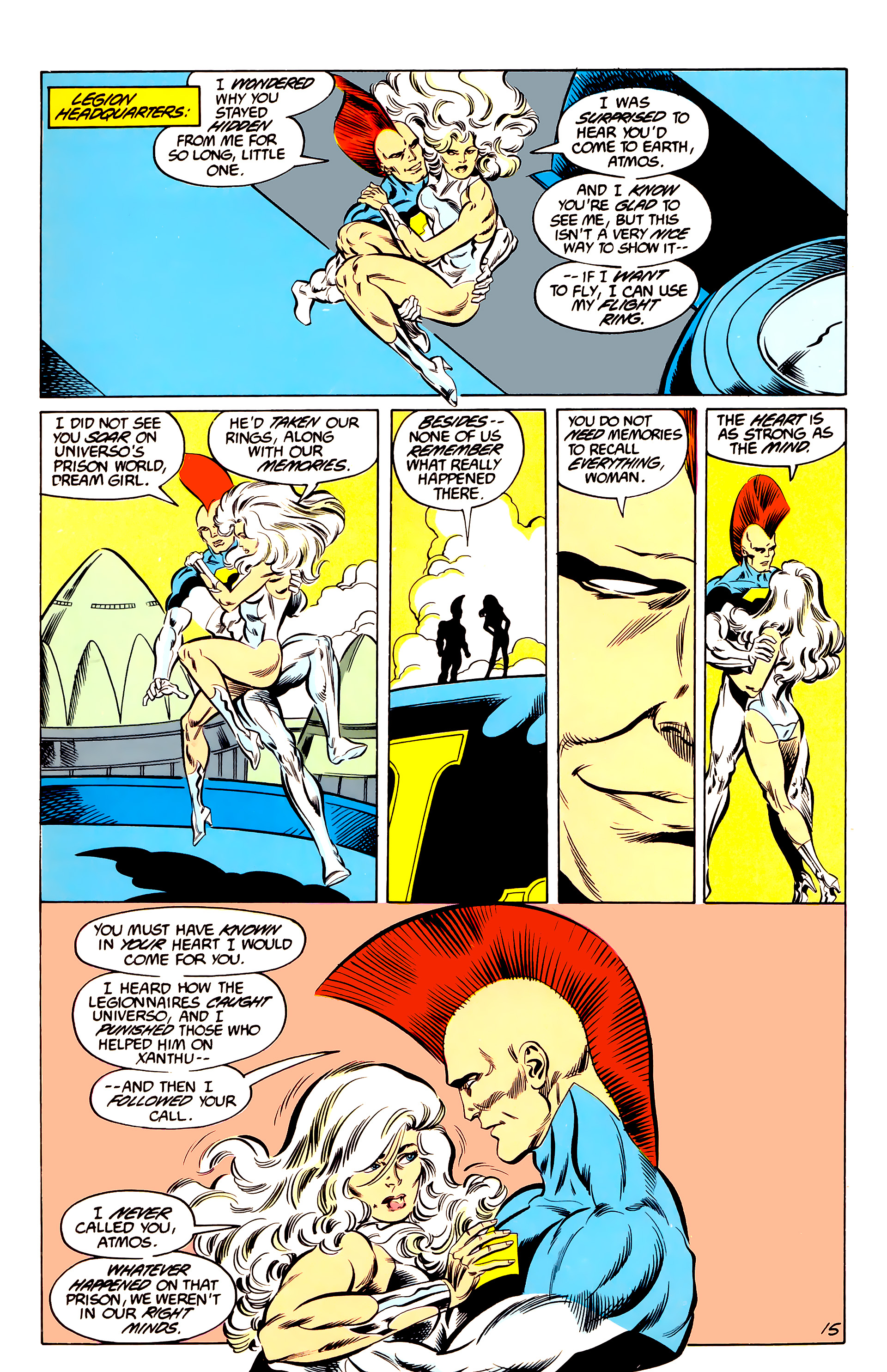 Legion of Super-Heroes (1984) 44 Page 15