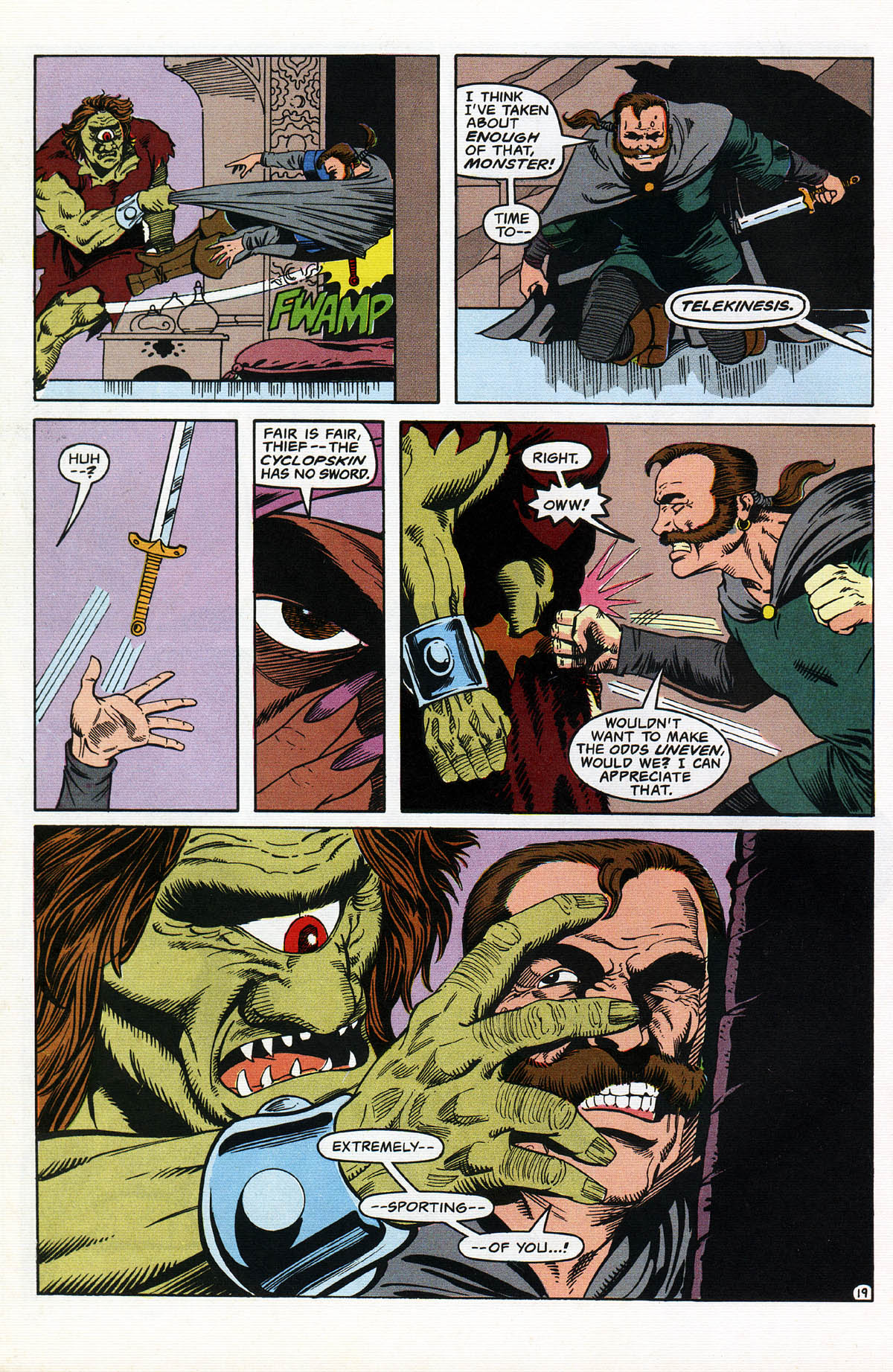 Read online Advanced Dungeons & Dragons comic -  Issue #14 - 23