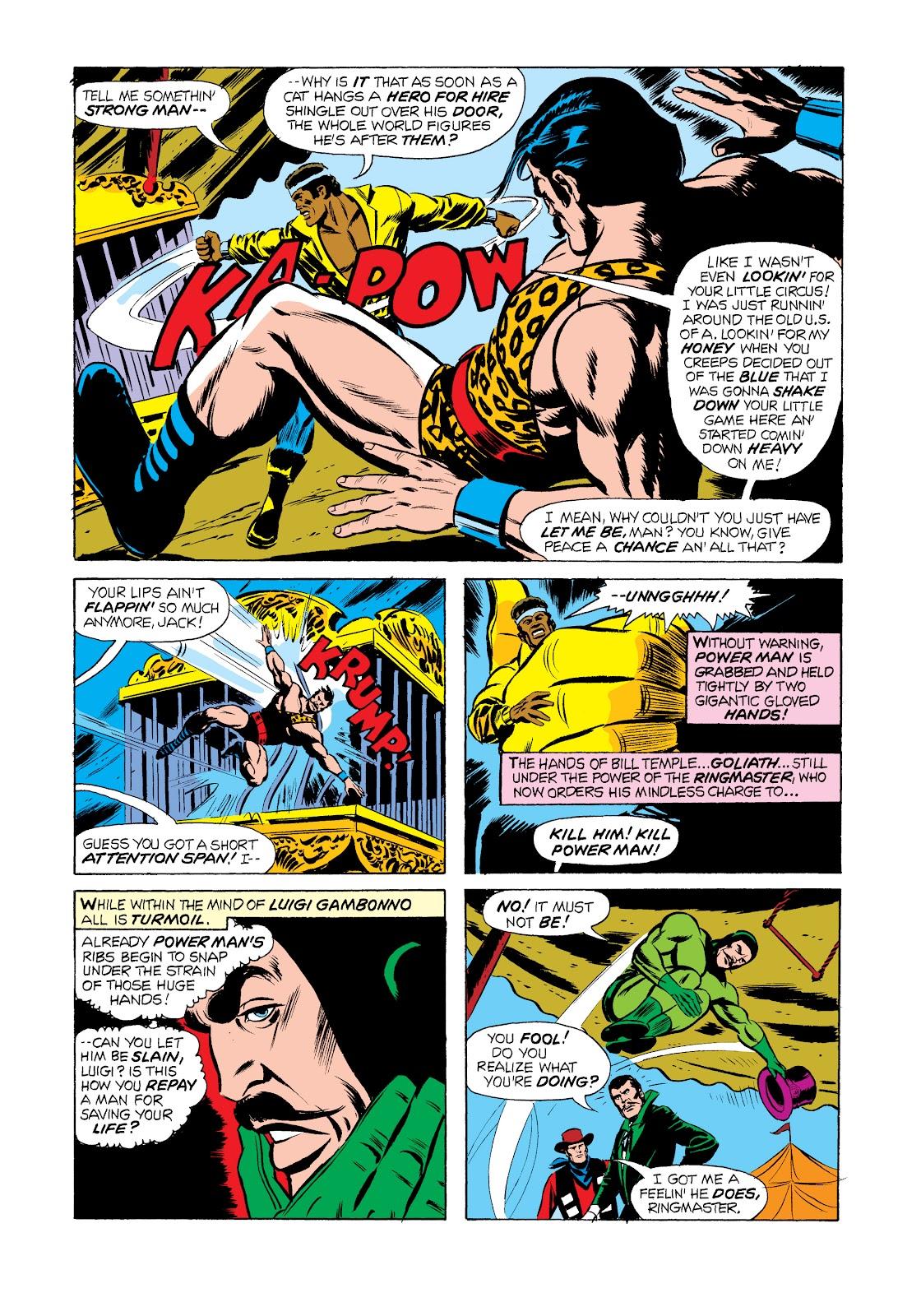 Read online Marvel Masterworks: Luke Cage, Power Man comic -  Issue # TPB 2 (Part 2) - 74