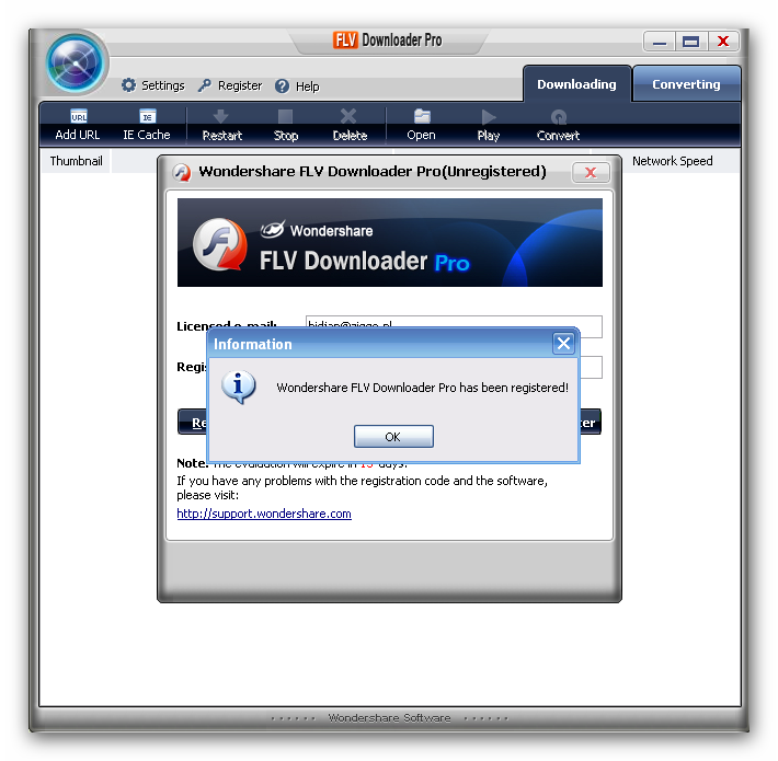 Loader pro 1414 free for all wondershare flv down wondershare flv downloader pro is a professional tool for you to download flvflash video videos from online sites no matter it is rtmp or http protocol ccuart Images