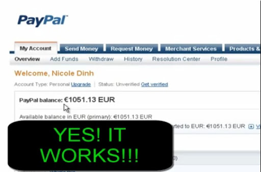 Paypal Anonym