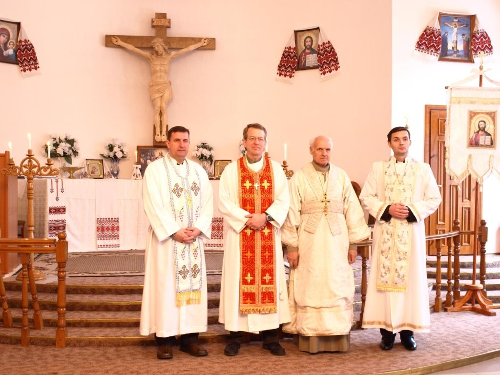 Ukrainian Lutheran Weekly: Pastor Balge Visits Ukrainian ...