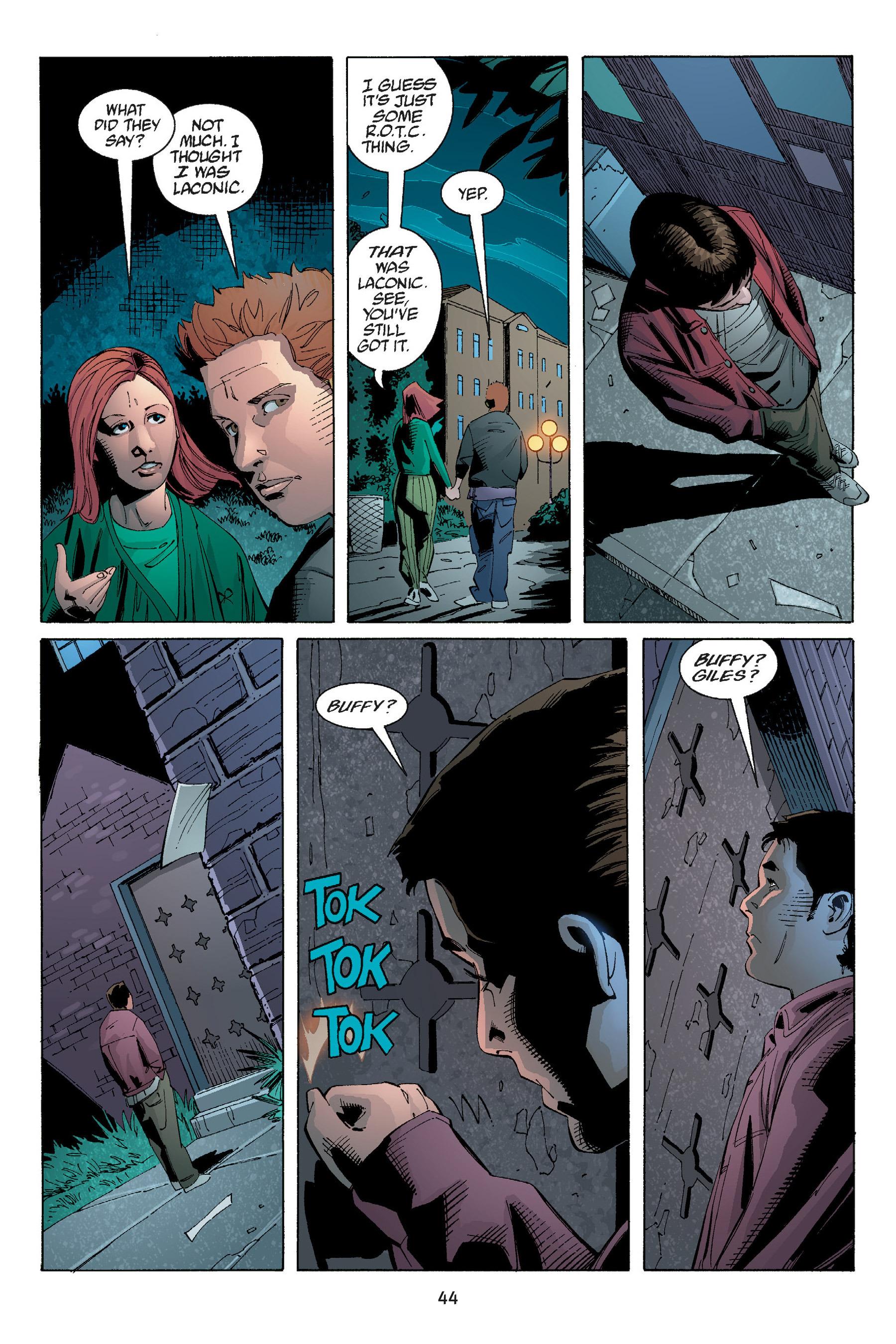Read online Buffy the Vampire Slayer: Omnibus comic -  Issue # TPB 5 - 45