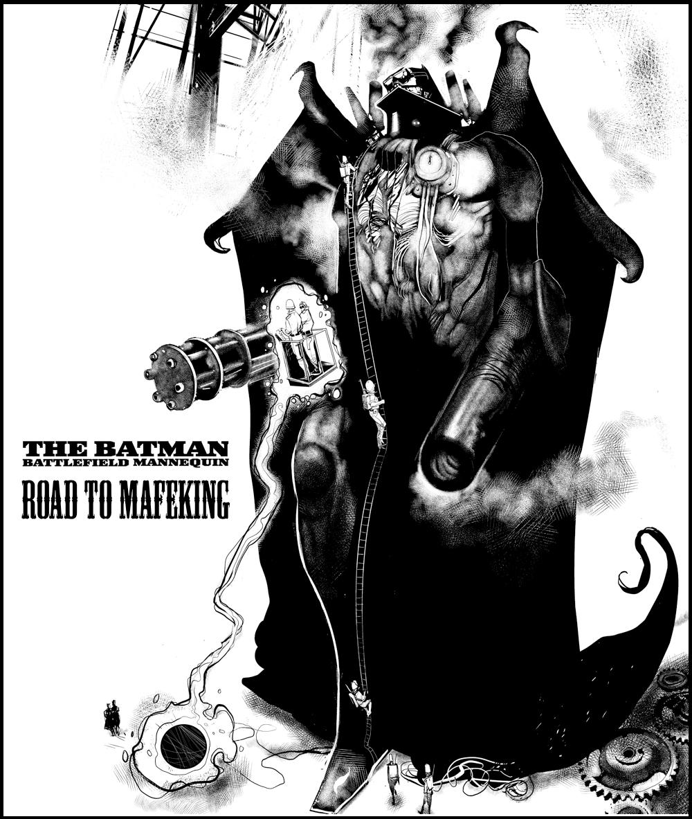 SHWANN: The Futuristic Samurai DJ: The Steampunk Batman