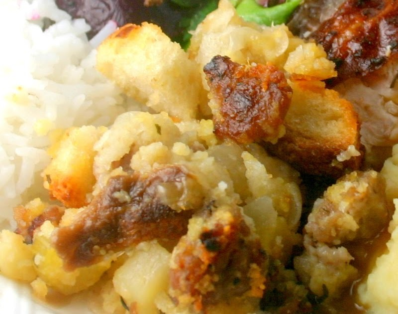 Stuffing With Sausage And Cranberries The Food Network
