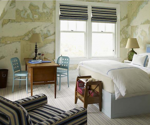 Loft Amp Cottage Tuesday Tip Decorate With Maps