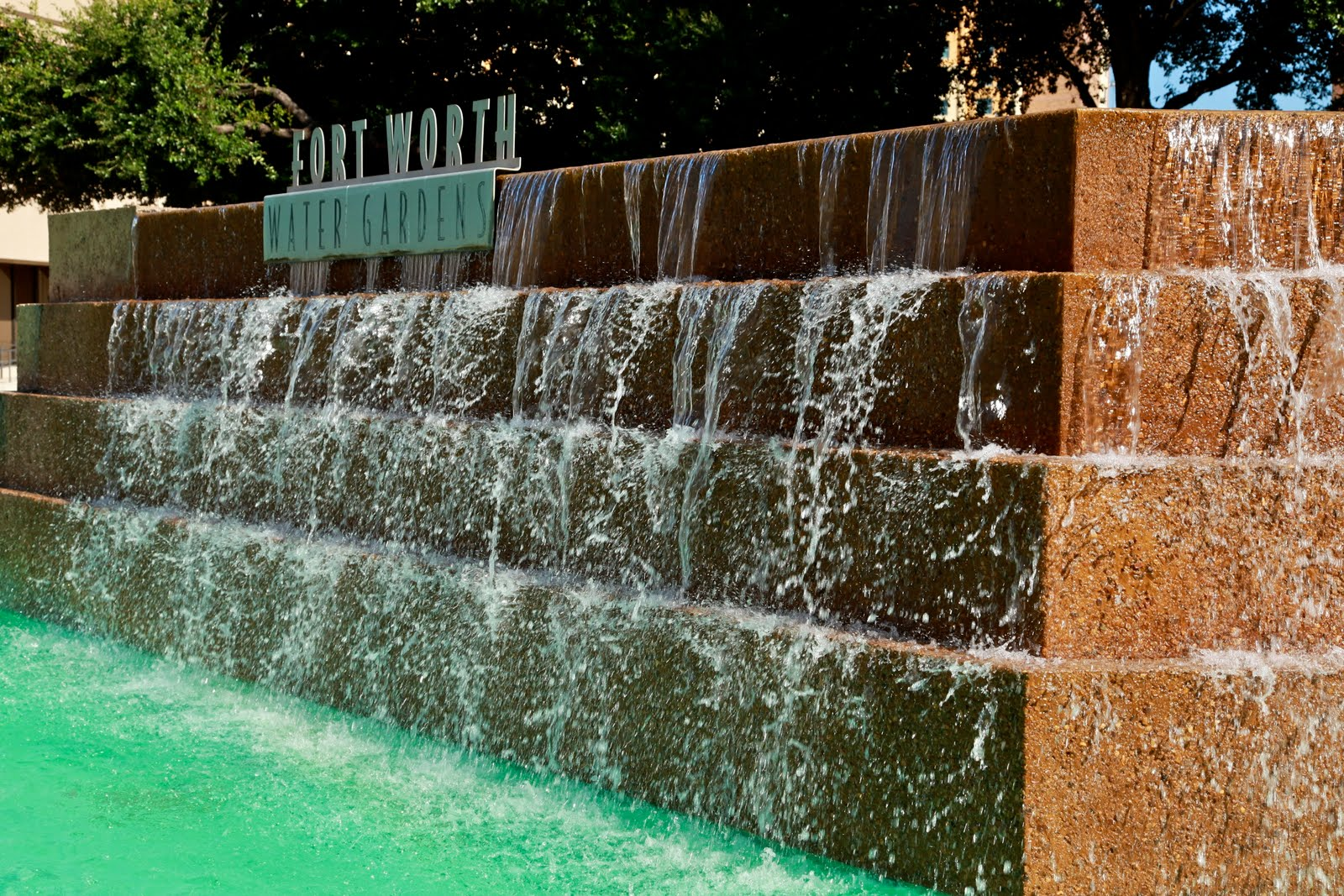 Bayside Ramblings: Fort Worth Water Gardens