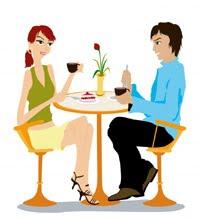 Treffen und kennenlernen