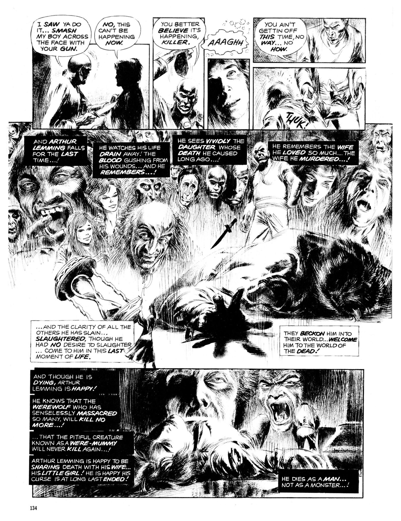 Read online Eerie Archives comic -  Issue # TPB 13 - 135