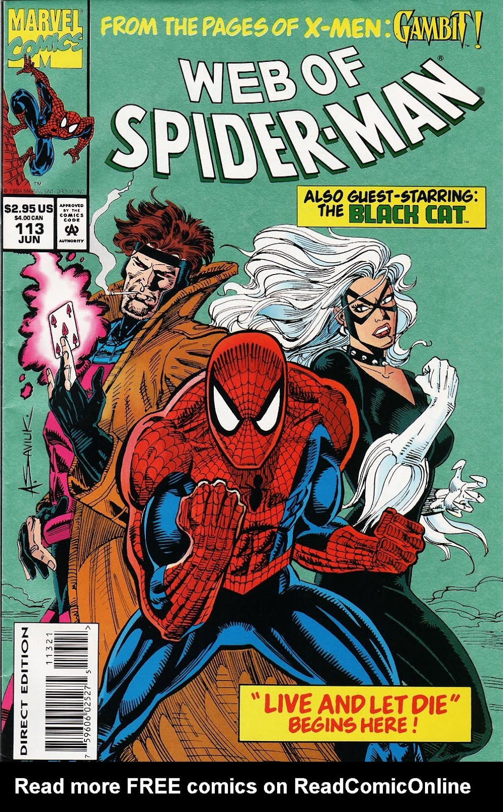Web of Spider-Man (1985) Issue #113 #123 - English 1
