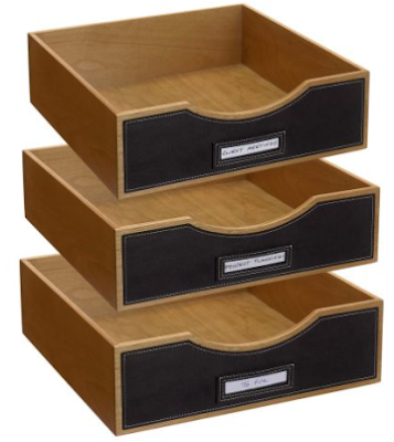 stackable wood drawers
