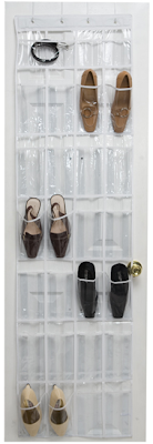 over-the-door shoe organizer