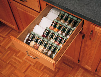 spice drawer inserts