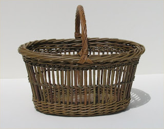Irish willow basket by Joe Hogan