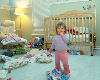 child and clutter