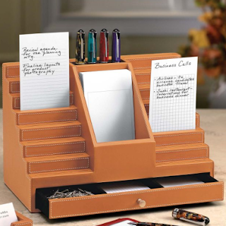 Levenger note card bleacher