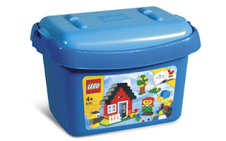 LEGOs - original plastic box