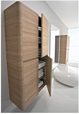 bathroom cabinet, wall-mounted,