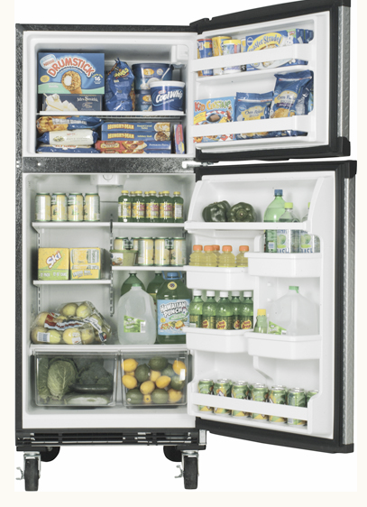Garage Fridge: Jeri's Organizing & Decluttering News: Garage Storage