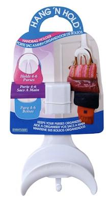 back-of-door purse holder