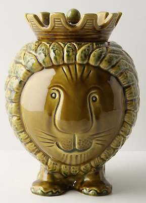 lion cookie jar