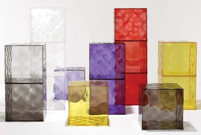 cube storage in many colors - violet, etc.
