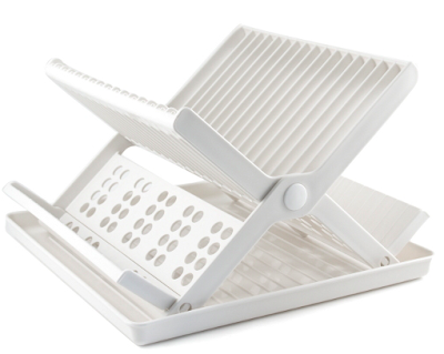 folding dish rack, plastic