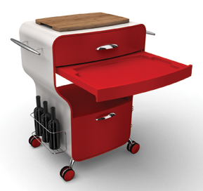 Kitchen Trolley Color Combination