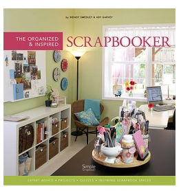 book cover, The Organized and Inspired Scrapbooker