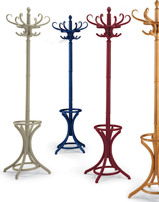 coat racks in 4 colors