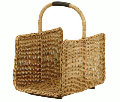 log carrier basket