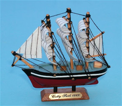 magnetic ship model
