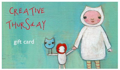 Creative Thursday gift card