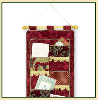 holiday card holder hanging